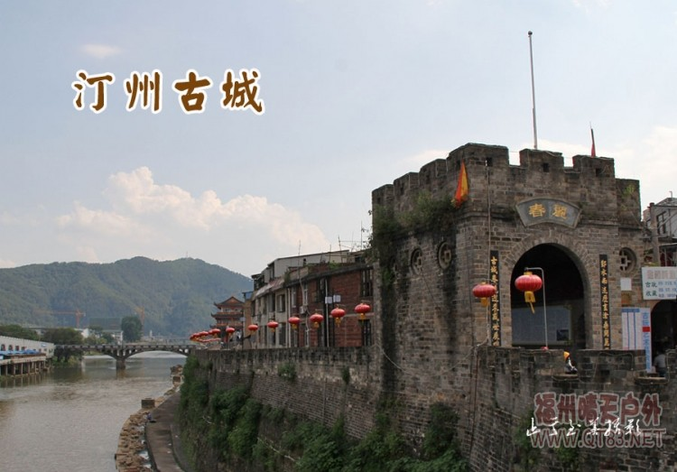 福建现有四个国家历史文化名城:泉州,福州,漳州,长汀,唯长汀是县级